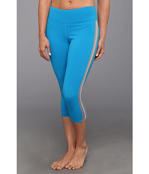 Pantaloni Fila - Parallax Midcalf Tight - Methyl Blue