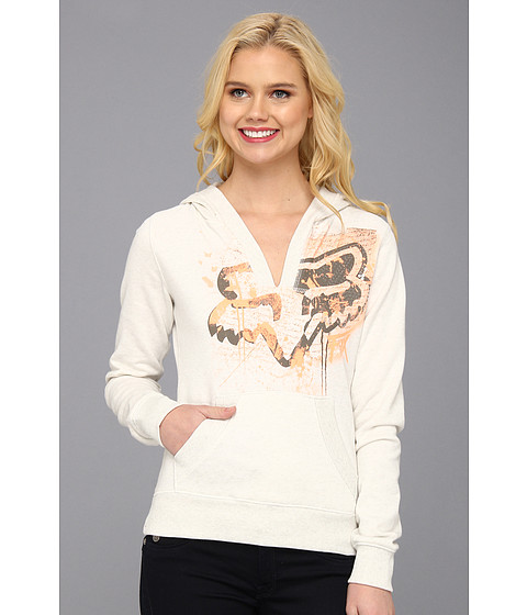 Bluze Fox - Uptown Pullover Hoodie - Heather Pearl