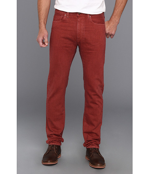 Blugi Levis Made & Crafted - Tack Slim in Rosewood Selvedge - Rosewood Selvedge