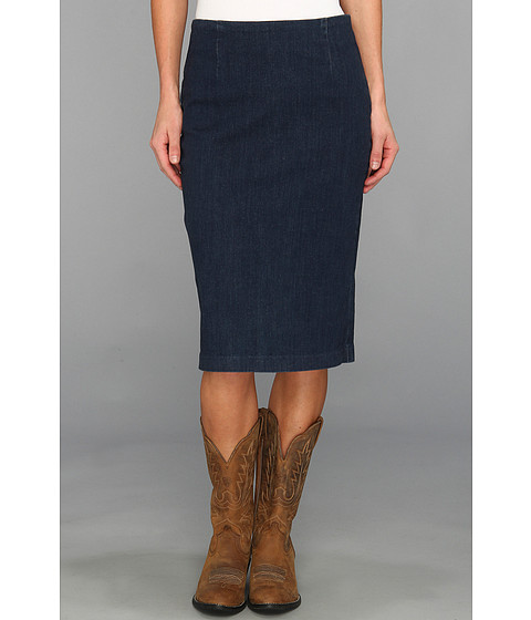 Fuste Stetson - 8829 Stretch Denim Skirt - Blue