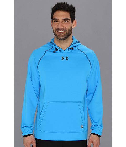 Bluze Under Armour - NFLÃ'® Combine Authentic Infrared Hoodie - Electric Blue/Black/Black