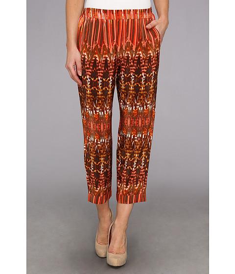 Pantaloni BCBGMAXAZRIA - Beck The Cropped Pant - Saffron Combo