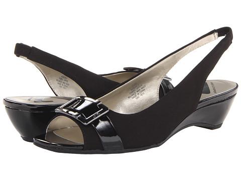 Pantofi Anne Klein New York - Burle - Black