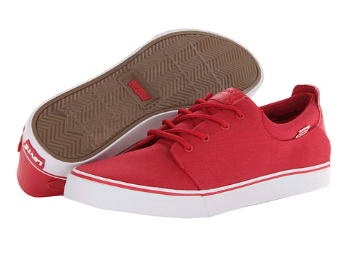 Adidasi Levis - J Canvas - Red