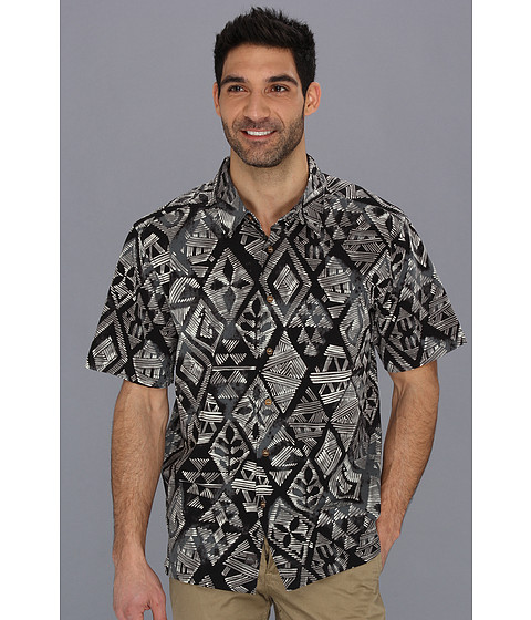 Camasi Quiksilver - Moorea S/S Shirt - Black