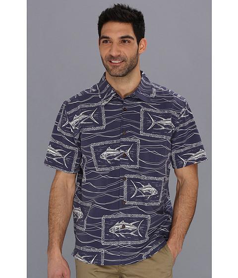Camasi Quiksilver - Paliea Point S/S Shirt - Scuba