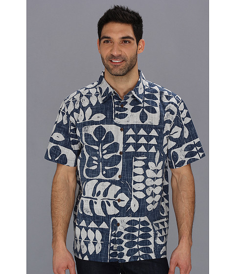 Camasi Quiksilver - Pua Tree S/S Shirt - Night