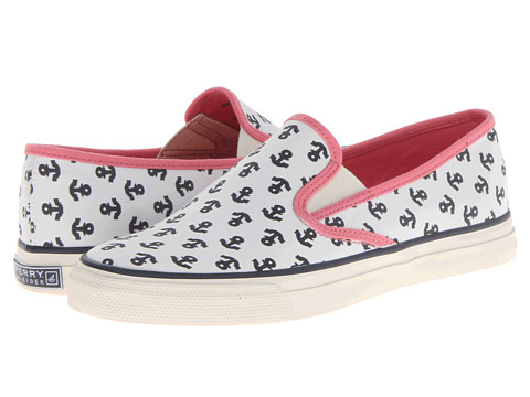 Adidasi Sperry Top-Sider - Mariner - Ivory/Pink (Anchors)