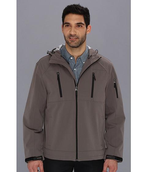 Bluze Calvin Klein - Hooded Soft Shell Jacket CM403761 - Graphite