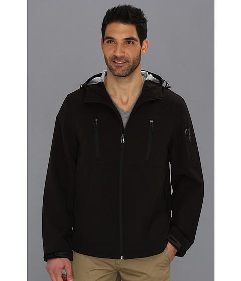 Bluze Calvin Klein - Hooded Soft Shell Jacket CM403761 - Black
