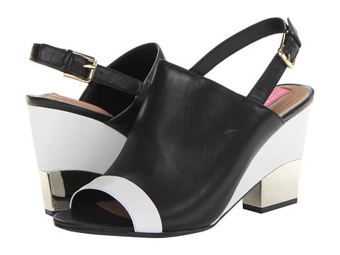 Pantofi Isaac Mizrahi New York - Bolt - Black/White Leather