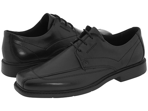 Pantofi Clarks - Newmann - Black Leather