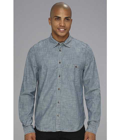 Camasi Alternative Apparel - Ken L/S Shirt - Indigo