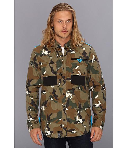 Camasi L-R-G - Wolfland L/S Woven Shirt - British Khaki