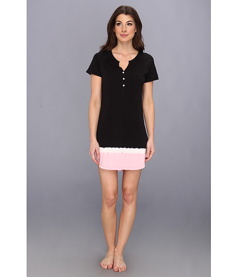 Lenjerie P.J. Salvage - Young at Heart Jersey Nightshirt - Black