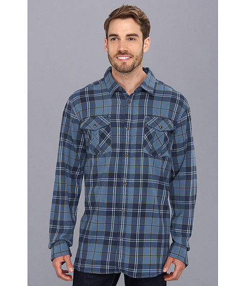 Camasi The North Face - L/S Gallito Flannel - China Blue