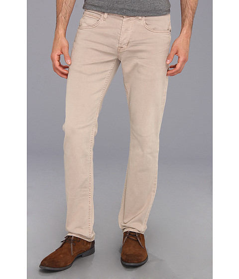 Blugi Hudson - Byron Five-Pocket Straight in Flax Medium Beige - Flax Medium Beige