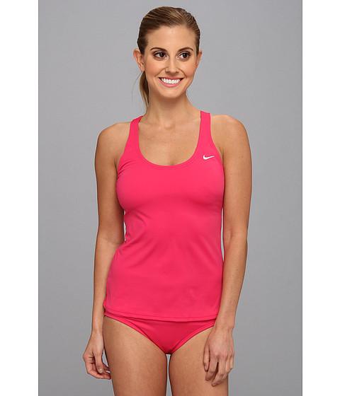 Costume de baie Nike - Fast Back Tankini - Pink Force