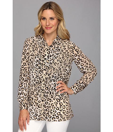 Bluze Jones New York - A-Line L/S Pinctuked Shirt -  Cornstalk Multi