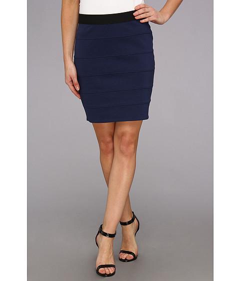 Fuste BCBGMAXAZRIA - Knit Bandage Skirt - Classic Blue