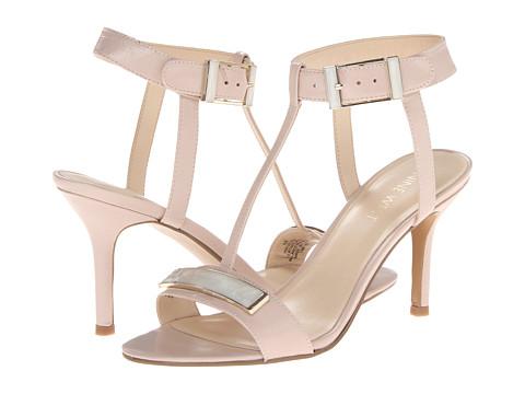 Pantofi Nine West - Gelosia - Light Grey Leather