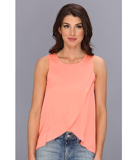 Bluze BCBGeneration - Woven Sportswear Top KUD1R868 - Sherbet