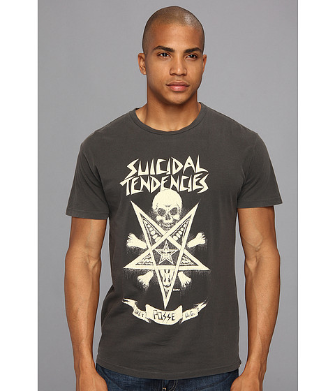 Bluze Obey - OBEY x Suicidal Tendencies Possessed Lightweight Pigment Tee - Black