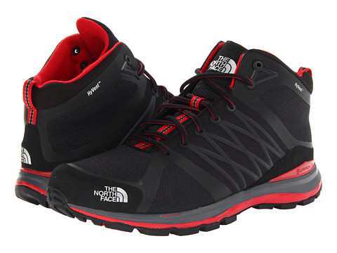 Adidasi The North Face - Litewave Guide Mid HyVent® - TNF Black/TNF Red