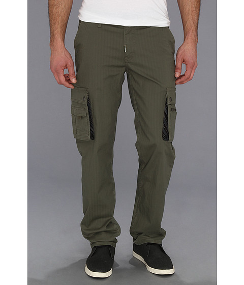 Pantaloni L-R-G - Tech Natural International TS Cargo Pant - Olive Drab