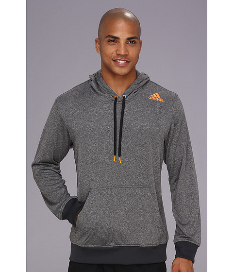 Bluze adidas - Ultimate French Terry Pullover - Dark Shale Heather/Solar Zest