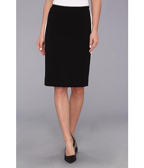 Fuste Calvin Klein - Colorblocked Panel Skirt - Black