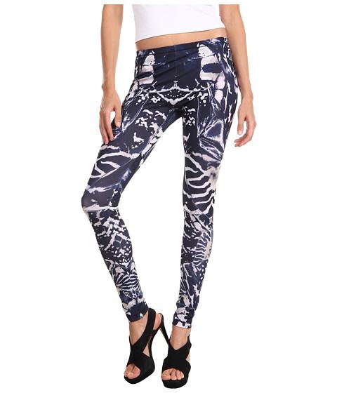 Pantaloni McQ - Kaleidoscope Print Legging - Indigo/Black