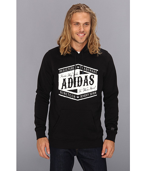 Bluze adidas - From Thy Hills Pullover Hoodie - Black/White