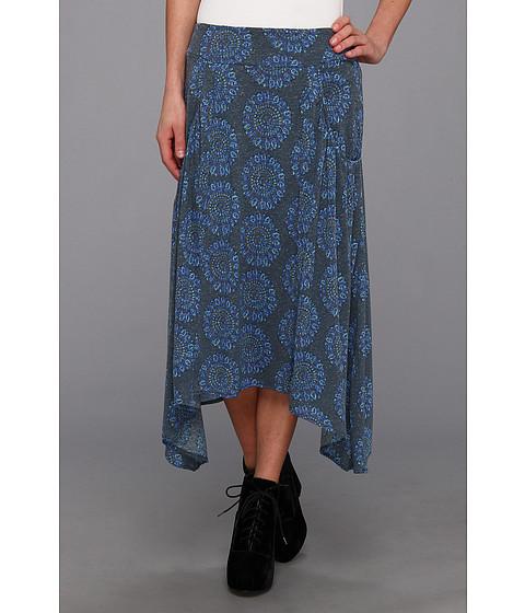 Fuste Free People - Print Flip It And Reverse It Skirt - Slate Combo