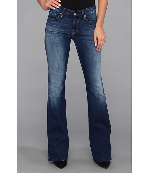 Blugi 7 For All Mankind - Kimmie Bootcut in Blue Shadows - Blue Shadows