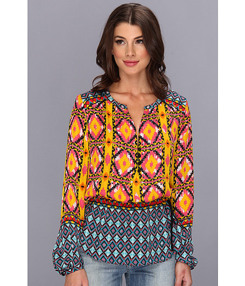 Bluze Hale Bob - Transition To Tribal L/S Top - Yellow