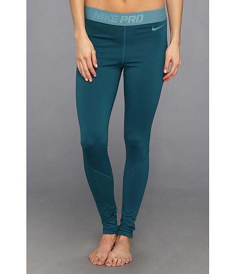 Pantaloni Nike - Nike Pro Hyperwarm Tight III - Dark Sea/Mineral Teal