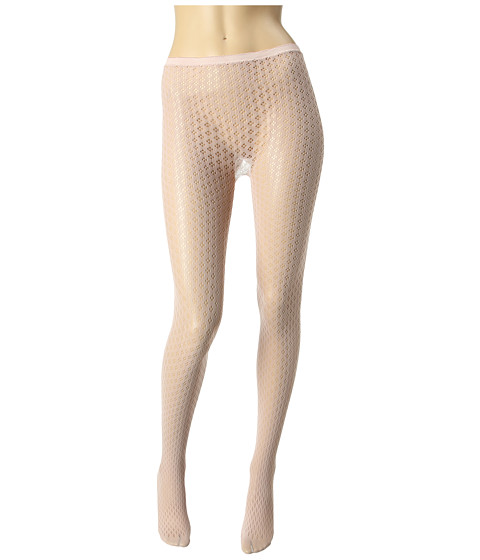 Lenjerie Betsey Johnson - 2 Pack Pretty Pointelle Net Tight/Solid - Spankin Nude/Black