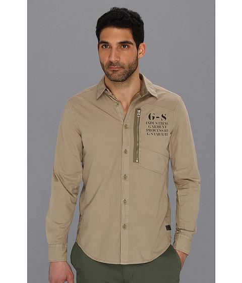 Camasi G-Star - Wilton Lawrence Poplin OD L/S Shirt - Dune