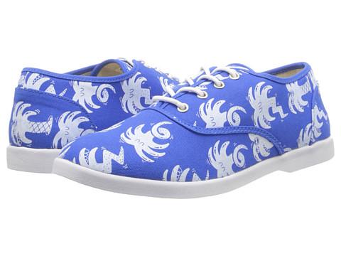 Adidasi Generic Surplus - Borstal Harrington - Canvas - Blue Palm Printed