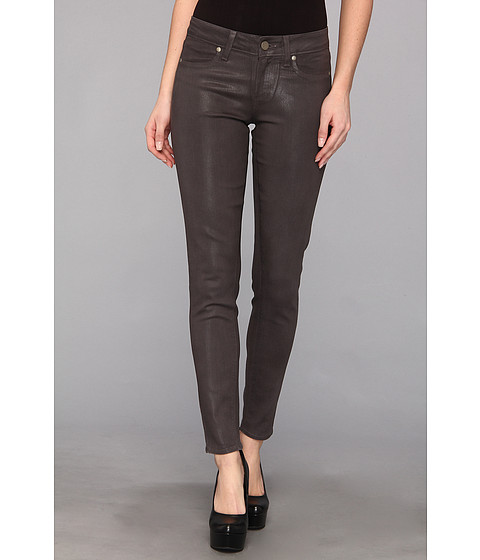 Blugi Paige - Verdugo Ultra Skinny Ankle in City Fog Silk Coating - City Fog Silk Coating