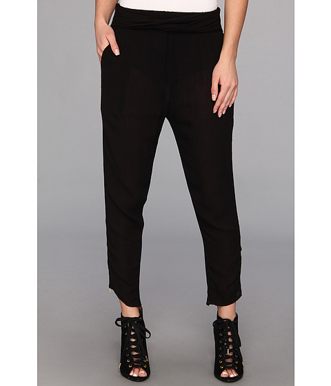 Pantaloni Free People - Twisted Harem Pant - Black