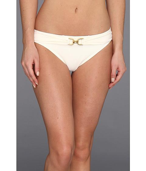 Costume de baie MICHAEL Michael Kors - Linked Solids Classic Bottom w/ D Ring - Cream