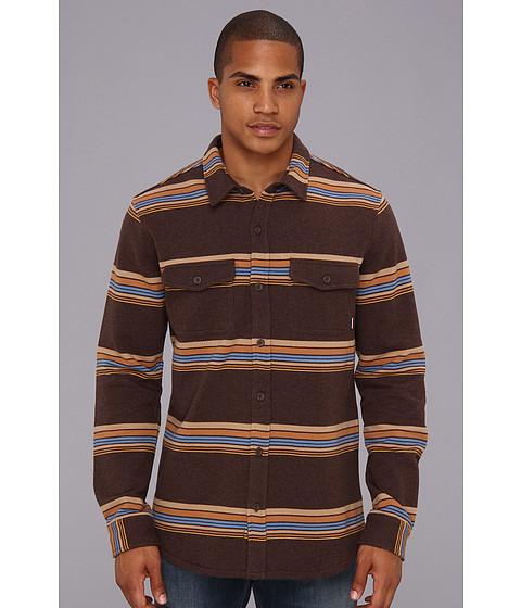 Camasi ONeill - Jack O\Neill Providence LS Shirt - Dark Brown
