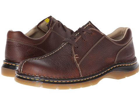 Pantofi Dr. Martens - Zack 3-Eye CBS - Dark Brown