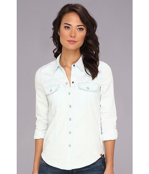 Camasi Roxy - Saddleback 3 L/S Denim Shirt - Light Indigo