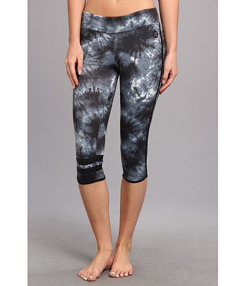 "Pantaloni Hurley - Dri-FITâ""¢ Crop Legging - Black Tie Dye"