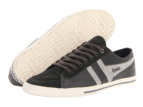 Adidasi Gola - Quota Underlay - Anthracite/Light Grey Tweed