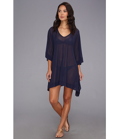 Lenjerie Tommy Bahama - Tulle Hi-Low Tunic - Mare