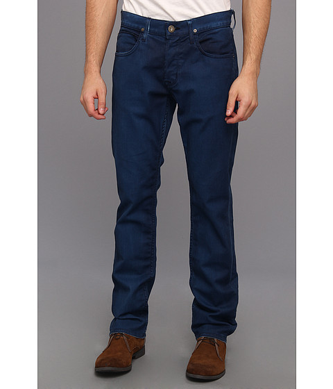 Blugi Hudson - Byron Five-Pocket Straight in Ash Navy - Ash Navy